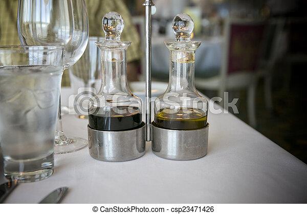 Oil and vinegar - csp23471426
