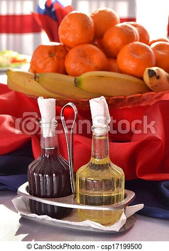 Oil and vinegar - csp17199500