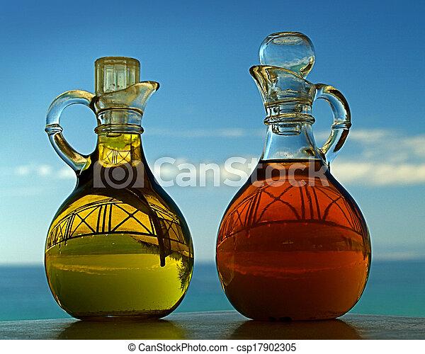 Oil and Vinegar - csp17902305