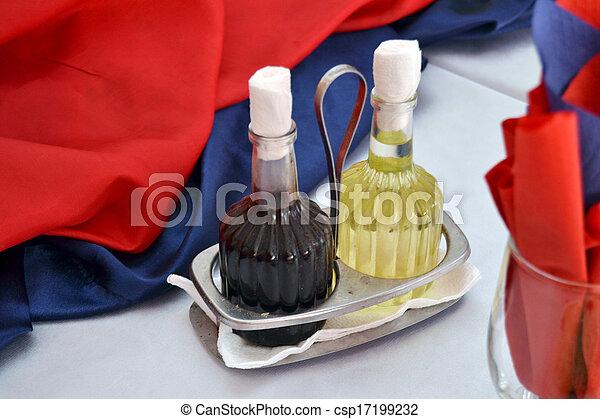 Oil and vinegar - csp17199232