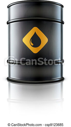 oil barrel - csp9123685