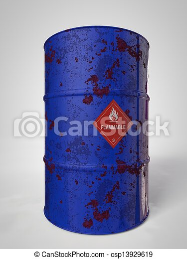 Oil-Barrels - csp13929619