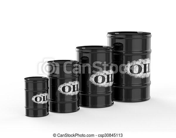 oil barrels - csp30845113