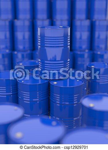 Oil Barrels. - csp12929701