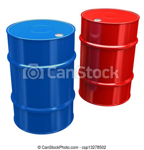 Oil Barrels - csp13278502