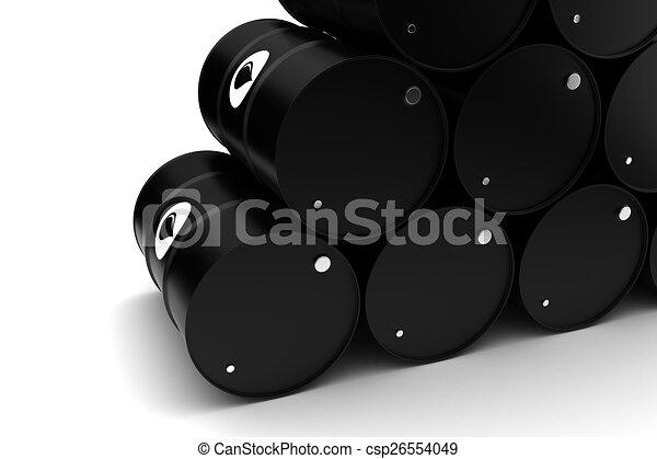 Oil Barrels - csp26554049