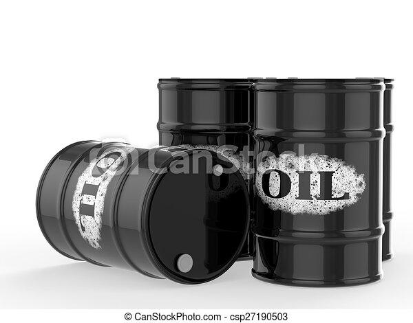 oil barrels - csp27190503