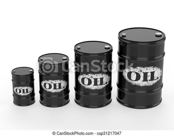 oil barrels - csp31217047