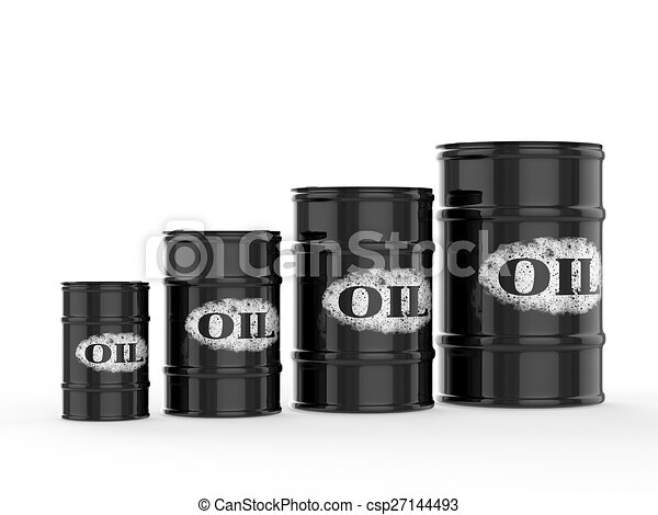 oil barrels - csp27144493