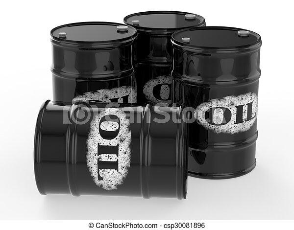 oil barrels - csp30081896