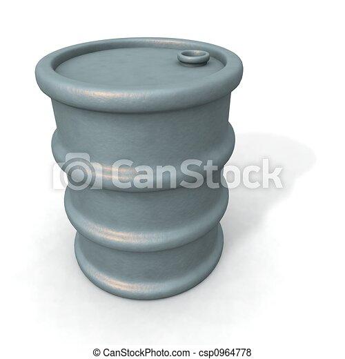 oil barrels - csp0964778