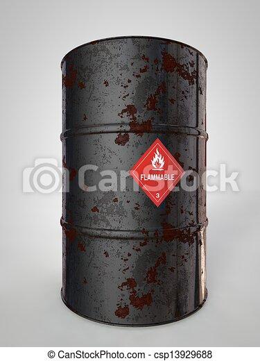 Oil-Barrels - csp13929688