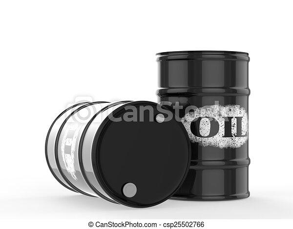oil barrels - csp25502766