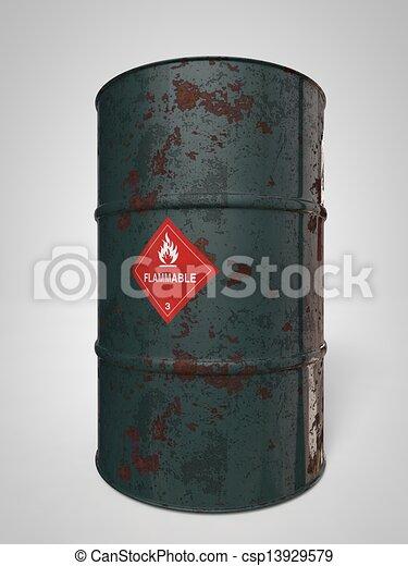 Oil-Barrels - csp13929579