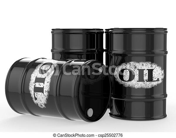 oil barrels - csp25502776
