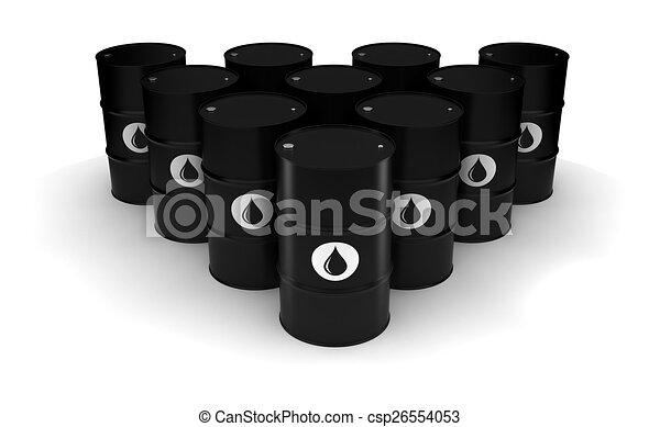 Oil Barrels - csp26554053