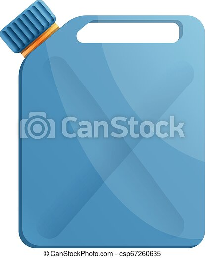 Oil canister icon, cartoon style - csp67260635
