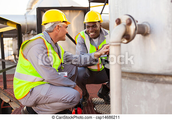 oil chemical industry technicians - csp14686211