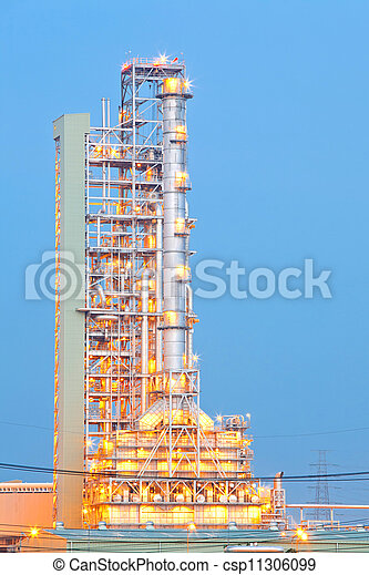 Oil Distillation tower - csp11306099