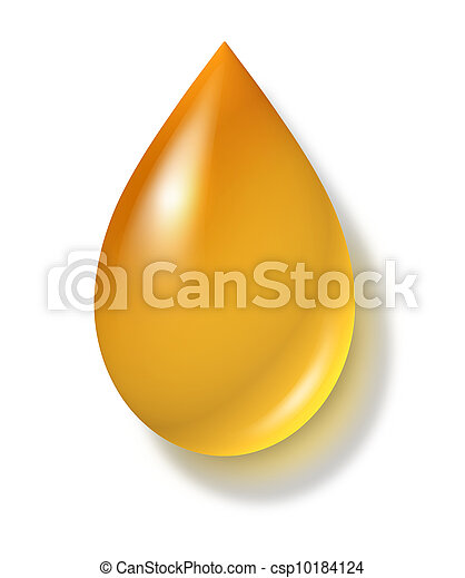 Oil Drop - csp10184124