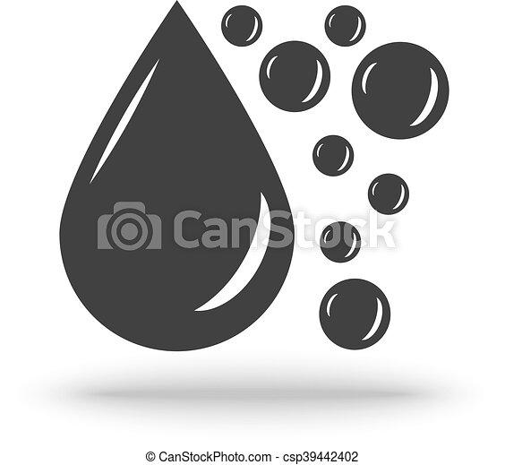 Oil Drop vector - csp39442402