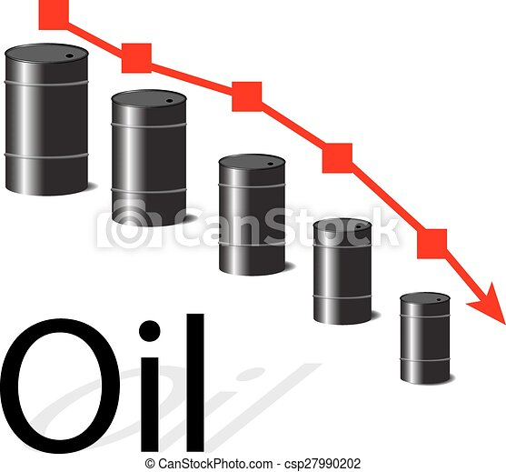 Oil falls in price - csp27990202