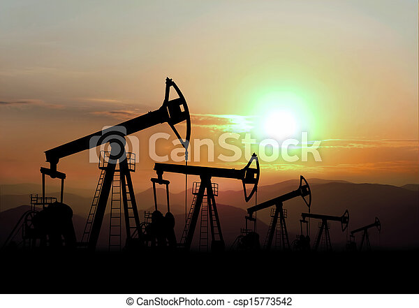 oil field - csp15773542
