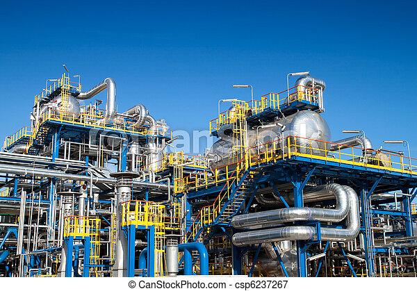 Oil industry equipment installation - csp6237267