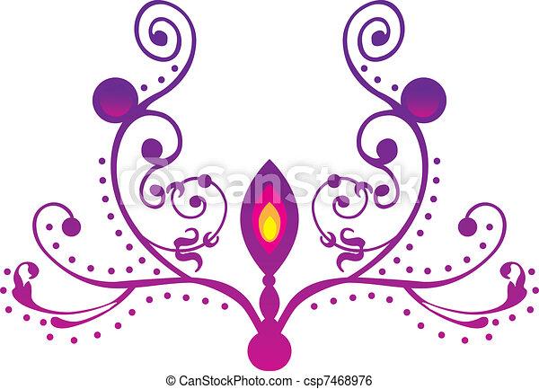 oil lamp - csp7468976