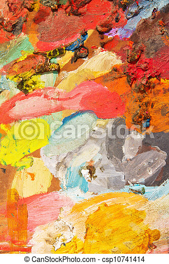 oil paint  - csp10741414