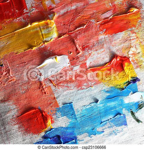 oil paint  - csp23106666