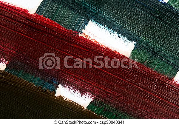 oil paint - csp30040341