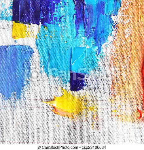 oil paint  - csp23106634