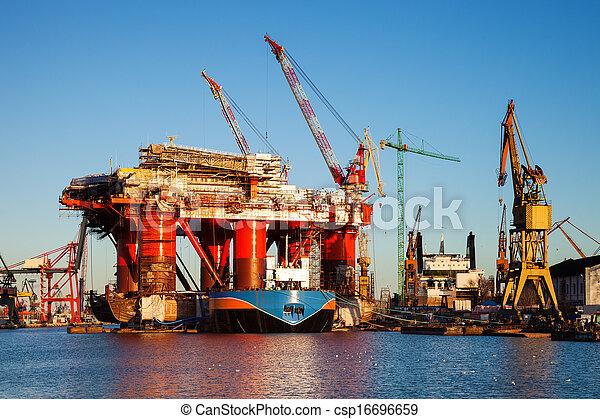 Oil Platform - csp16696659