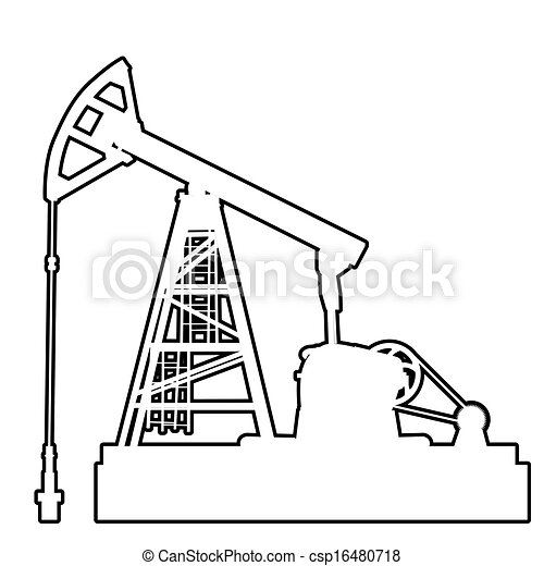 Oil Drilling Unit Clipart And Stock Illustrations 176 Oil Drilling