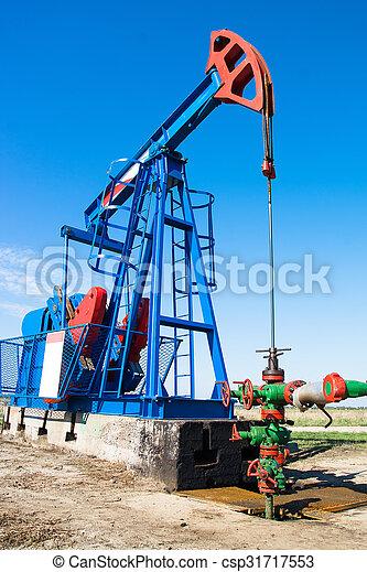 Oil pumpjack - csp31717553