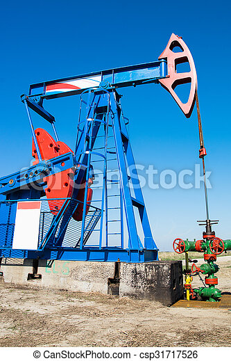 Oil pumpjack - csp31717526