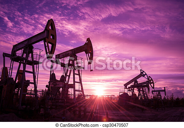 Oil pumps. - csp30470507