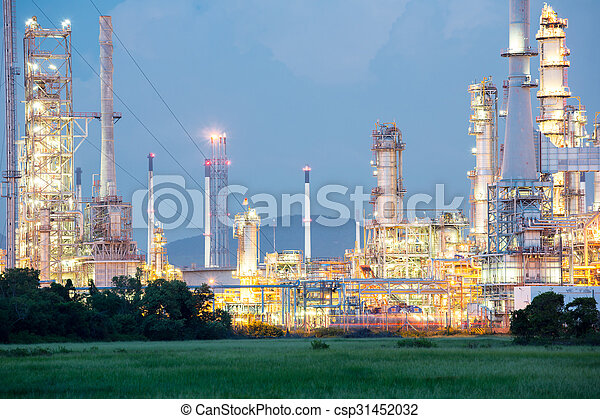 Oil Refinery Factory - csp31452032