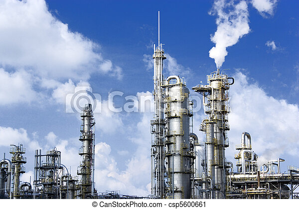 Oil Refinery - csp5600661
