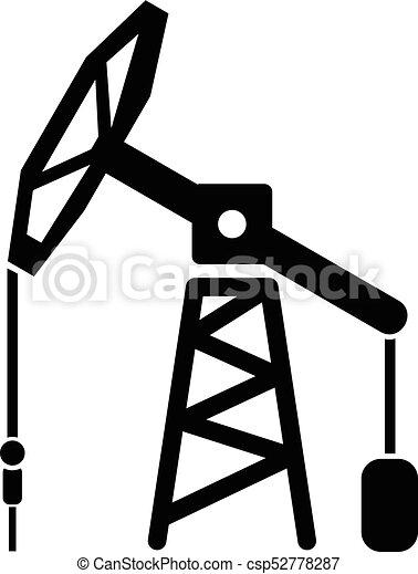 oil rig icon simple black style oil rig icon simple vector rh canstockphoto com oil derrick clipart free oil rig derrick clipart