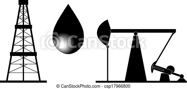 oil rig black and white illustration rh canstockphoto com oil rig images clip art oil rig clip art free