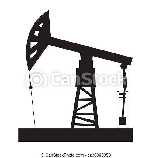 oil rig illustration of oil rig rh canstockphoto com oil platform clipart oil drilling rig clipart