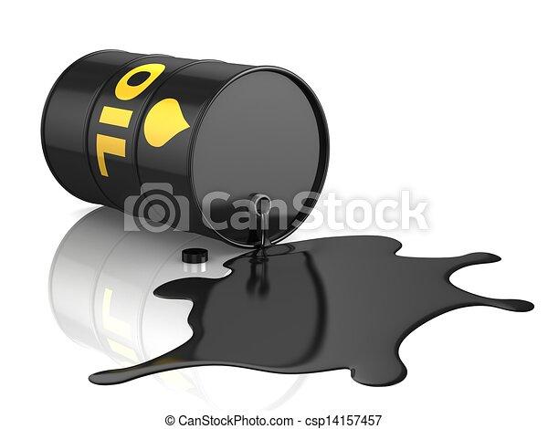 oil spill   - csp14157457