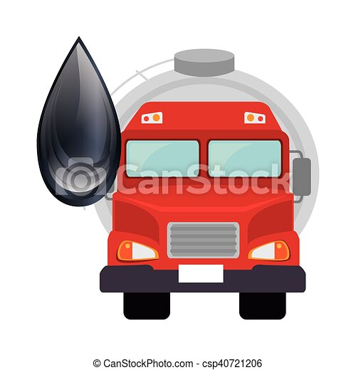 oil tank truck - csp40721206