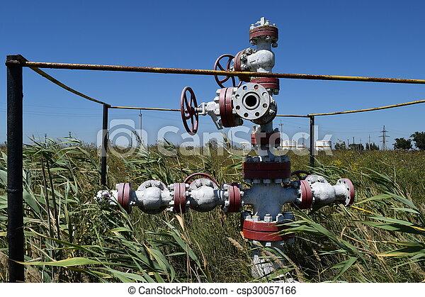 Oil well - csp30057166