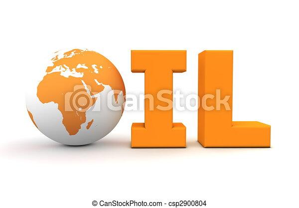 Oil World Orange - csp2900804