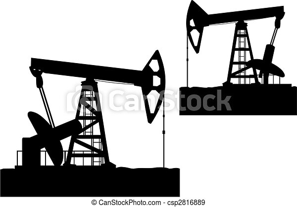 oilfields as a concept of oil industry eps vectors search clip art rh canstockphoto com oilfield clipart free Oilfield Derrick Clip Art with Transparent Background