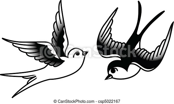 oiseaux chanteurs birds tattoo style dessin illustration vecteurs rechercher des clipart. Black Bedroom Furniture Sets. Home Design Ideas