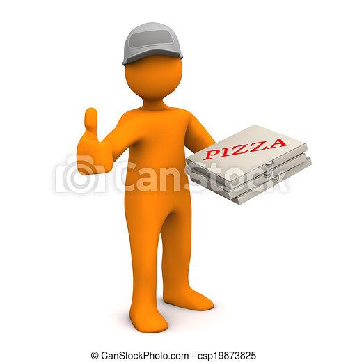 ok, pizza - csp19873825